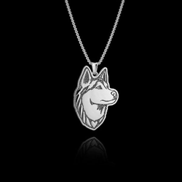 huskyfanworld husky necklace