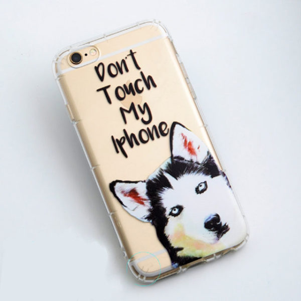 no touch husky phonecase