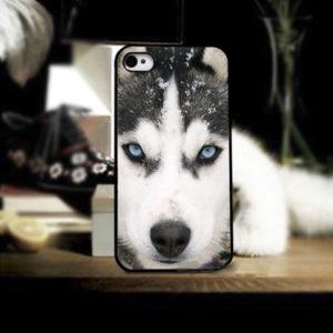 huskyfanworld blue eyes phonecase