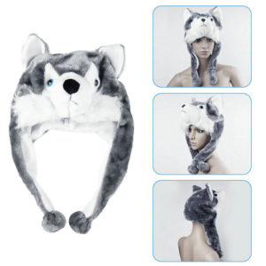 funny husky hat
