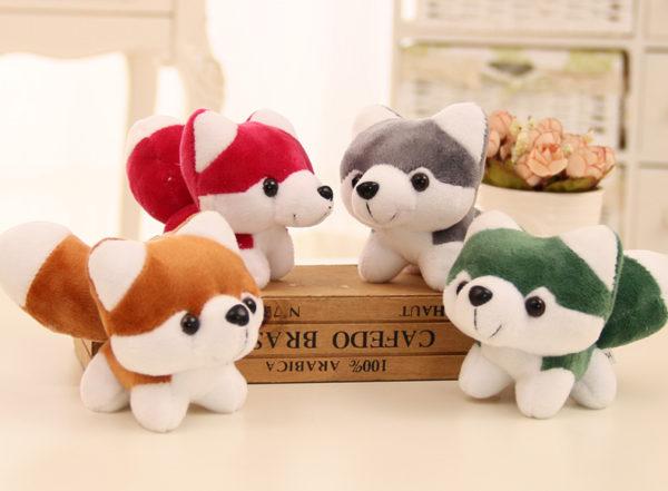 cute husky plush toy